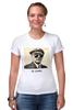 """Футболка Стрэйч (Женская) """"Dr. Lenin"""" - lenin, ленин, крутой ленин"""