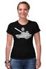 """Футболка Стрэйч (Женская) """"World of Tanks #16"""" - games, игры, игра, game, стиль, рисунок, логотип, world of tanks, танки, wot"""