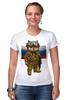 """Футболка Стрэйч (Женская) """"Вежливые Люди"""" - армия, россия, флаг, крым, вежливые люди"""