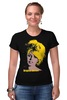 "Футболка Стрэйч (Женская) ""Brigitte Bardot "" - кино, актриса, брижит бардо, brigitte bardot"
