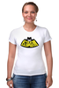 "Футболка Стрэйч ""Kawaii x Batman"" - batman, бэтмен, kawaii, кавайи"