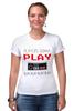 "Футболка Стрэйч ""Игрок (Геймер)"" - gamer, nintendo, геймер, player, play"