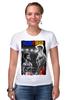 "Футболка Стрэйч ""Ivan Drago & Rocky"" - рокки, rocky, дольф лундгрен, иван драго, dolph lundgren"