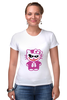 """Футболка Стрэйч (Женская) """"Hello Kitty Joker"""" - hello kitty, joker, джокер, хелло китти"""