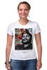 """Футболка Стрэйч (Женская) """"че гевара"""" - che, cuba, guevara, революционер, кубинская революция"""