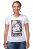 """Футболка Стрэйч (Женская) """"Мадонна (Vogue)"""" - madonna, мадонна, вог, vogue"""