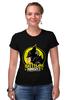 "Футболка Стрэйч (Женская) ""Gotham Knight"" - комиксы, batman, кино, бэтмен, готэм"