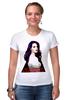 """Футболка Стрэйч (Женская) """"Lana Del Rey - Ultraviolence Era (Front & Back)"""" - арт, lana del rey, лана дель рей, ultraviolence, ultraviolence era"""