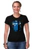 "Футболка Стрэйч ""Tardis Ink"" - doctor who, tardis, приключения, доктор кто, тардис"