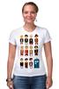 """Футболка Стрэйч """"Доктор Кто (Doctor Who)"""" - doctor who, tardis, доктор кто, тардис"""