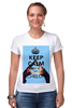 "Футболка Стрэйч ""Keep calm and be an Echelon"" - 30 seconds to mars, rock, keep calm, 30stm, echelon"