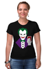 "Футболка Стрэйч (Женская) ""Джокер (Joker)"" - joker, джокер"