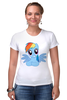 """Футболка Стрэйч """"RainbowDash T-Shirt"""" - круто, rainbow dash, my little pony, пони, rainbow, стильно, рейнбоу дэш, молодёжно"""