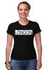 "Футболка Стрэйч """"LONDON"""" - london, город, лондон"