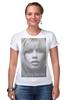 """Футболка Стрэйч (Женская) """"Brigitte Bardot"""" - винтаж, актрисы, брижит бардо, brigitte bardot"""