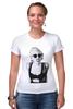 """Футболка Стрэйч (Женская) """"Lady Gaga"""" - девушка, модно, стиль, lady, gaga, певица"""