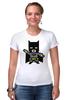"""Футболка Стрэйч """"Бэтмен (Batman)"""" - бетмен, бэтмен, batman"""