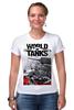 "Футболка Стрэйч (Женская) ""World of Tanks"" - игры, world of tanks, танки, wot"