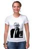 "Футболка Стрэйч ""Владимир Владимирович Путин"" - владимир, путин, президент, putin, vladimir, pootin"