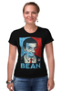 "Футболка Стрэйч ""Mr.Bean"" - актёр, мистер бин, роуэн аткинсон, mr bean, rowan atkinson"