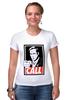 """Футболка Стрэйч """"Call Saul"""" - obey, breaking bad, better call saul, лучше звоните солу, сол гудман"""