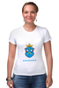 """Футболка Стрэйч (Женская) """"Сортавала-1"""" - сортавала, карелия, республика карелия"""