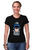 """Футболка Стрэйч (Женская) """"I Am the Bat"""" - комиксы, batman, герой, бэтмен"""
