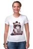 """Футболка Стрэйч """"Котик НЕТ"""" - кошка, grumpy cat, сердитый котик, соус тардар"""