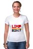 "Футболка Стрэйч (Женская) ""Limp Bizkit"" - limp bizkit, lb, wes borland, fred durst"