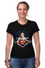 """Футболка Стрэйч """"Супермен"""" - супермен, superman"""