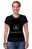"""Футболка Стрэйч """"Mercedes benz"""" - мерседес, автомобили, mercedes, amg"""