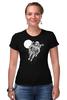 """Футболка Стрэйч (Женская) """"Dead Space"""" - skull, череп, космос, смерть, dead space"""