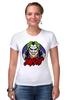 "Футболка Стрэйч ""Джокер (Joker)"" - joker, джокер, dc"