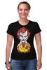 "Футболка Стрэйч (Женская) ""Джокер МакДональд"" - joker, джокер, бэтмен, клоун, mcdonalds"