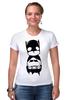 "Футболка Стрэйч (Женская) ""Batman (Бэтмен)"" - batman, бэтмен"
