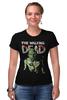 """Футболка Стрэйч """"The Walking Dead"""" - the walking dead, zombie, зомби, ходячие мертвецы"""