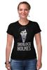"Футболка Стрэйч (Женская) ""Sherlock Holmes"" - london, sherlock, шерлок, камбербэтч"