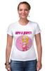 """Футболка Стрэйч (Женская) """"Хочу в декрет!"""" - baby, беременность, футболки для беременных, футболки для беременных купить, принты для беременных, pregnant"""