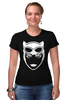 "Футболка Стрэйч ""Женщина-кошка (Catwoman) "" - batman, женщина-кошка, catwoman"