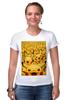 "Футболка Стрэйч ""Pokemon Go by K.KARAVAEV"" - pokemon, покемон, пикачу, kkaravaev, pokemongo"