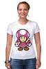 """Футболка Стрэйч (Женская) """"Toadette (Mario)"""""""