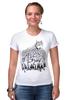 """Футболка Стрэйч (Женская) """"Волк в овечьей шкуре"""" - животные, волк, wolf"""