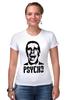 "Футболка Стрэйч ""American psycho(Американский психопат)"" - американский психопат, patrick bateman, american psycho, патрик бэйтман"