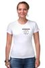 "Футболка Стрэйч (Женская) ""Logo rammstein"" - rammstein, рамштайн, раммштайн"
