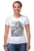 """Футболка Стрэйч (Женская) """"Софи Лорен"""" - фото, портрет, kinoart, софи лорен, sophia loren"""