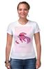 """Футболка Стрэйч (Женская) """"Знаки зодиака. Рыбы."""" - рыбы, знак зодиака"""