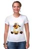 """Футболка Стрэйч (Женская) """"Good Luck"""" - смешные, новый год, овца, sheep, 2015, овечка"""