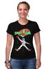 """Футболка Стрэйч (Женская) """"Space Jam x Jordan"""" - jordan, джордан, космический баскетбол, space jam, космический джем"""