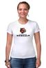 """Футболка Стрэйч (Женская) """"Cincinnati Bengals"""" - тигр, nfl, американский футбол, cincinnati bengals"""