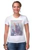 "Футболка Стрэйч (Женская) ""Chappie / Робот Чаппи"" - кино, робот, chappie, чаппи, kinoart"